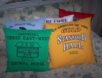 making t shirt pillows thriftyfun
