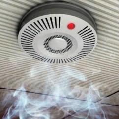 Kitchen Smoke Detector Drop In Sink Broiler Creates Too Much Thriftyfun