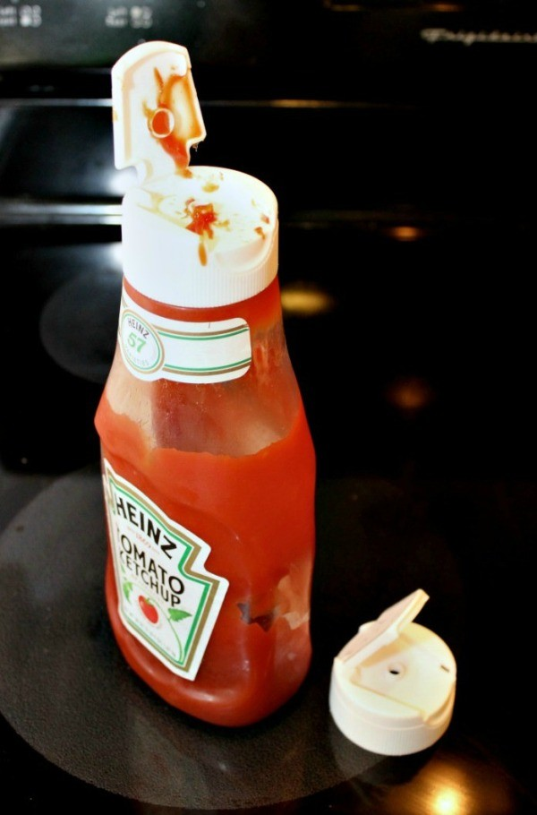 Keeping Condiment Bottle Lids Clean Thriftyfun