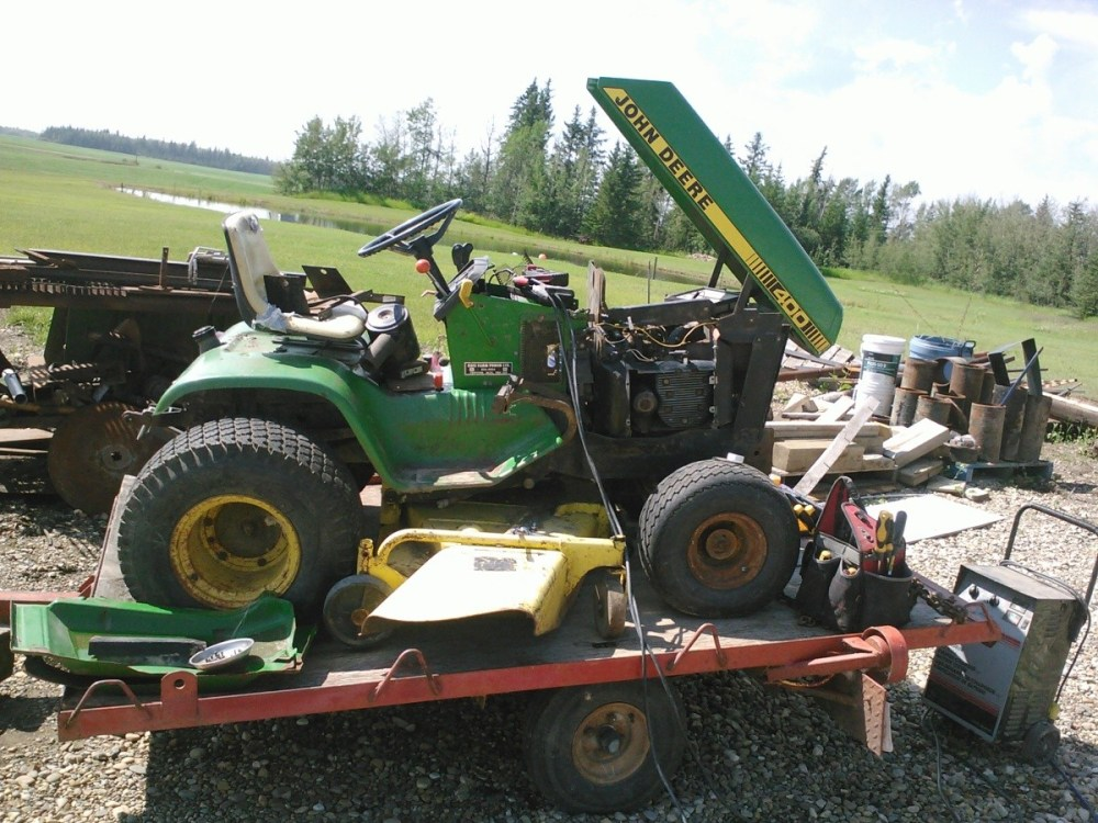 medium resolution of john deere riding mower won t start