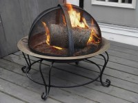 Using a Fire Pit on a Wood Deck | ThriftyFun