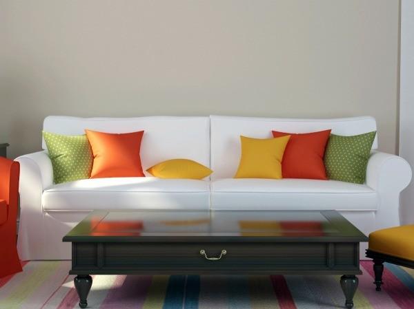 Pillow Dye Transferred onto Sofa  ThriftyFun