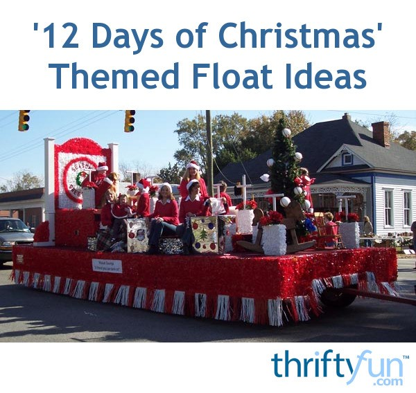 Float Decorations: Easy Christmas Float Decorations