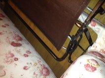 best way to fix a sofa bed maverick leather reviews repairing frame thriftyfun headrest down