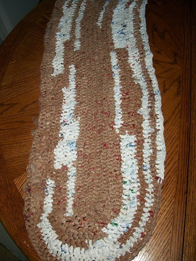 Making a Rug from Plastic Bags  ThriftyFun
