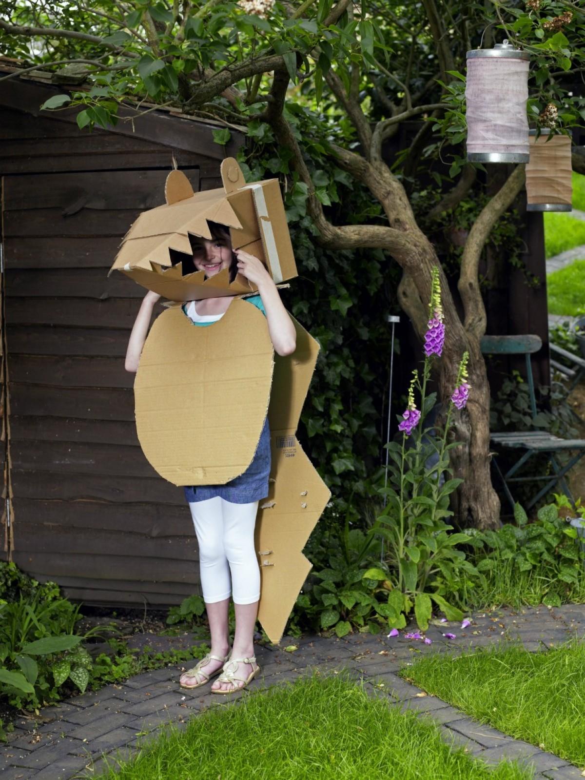 Kid Craft Ideas Using Cardboard Boxes Thriftyfun