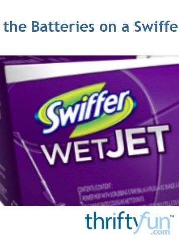 Swiffer Wetjet Battery Replacement : swiffer, wetjet, battery, replacement, Changing, Batteries, Swiffer, ThriftyFun