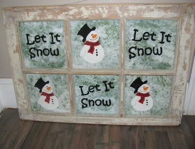 """Making a """"Let It Snow"""" Window Frame"""