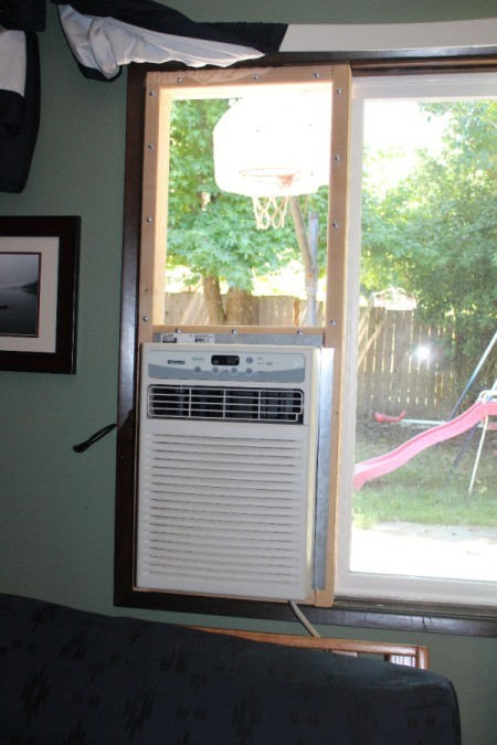 Image Result For Installing A Window Air Conditioner In A Horizontal Sliding Window