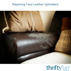 How To Repair A Leather Sofa From Cat Scratches Sets For Living Room Online Repairing Faux Upholstery | Thriftyfun
