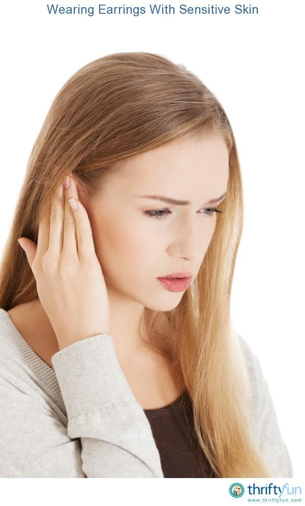 Cheap earrings hurt my ears