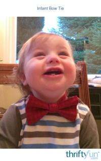 Infant Bow Tie   ThriftyFun