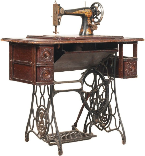 Uses for an Old Sewing Machine Cabinet  ThriftyFun