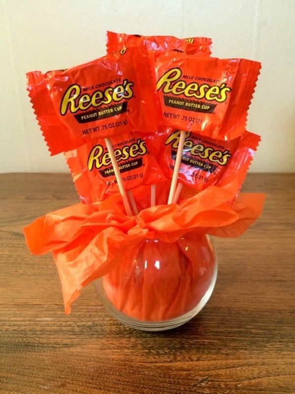 Mini Pumpkin Candy Bouquet ThriftyFun