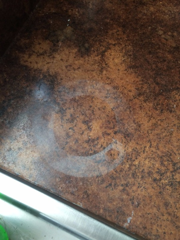 Removing Stain on Laminate Countertop  ThriftyFun