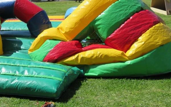 Repairing an Inflatable Bounce House  ThriftyFun