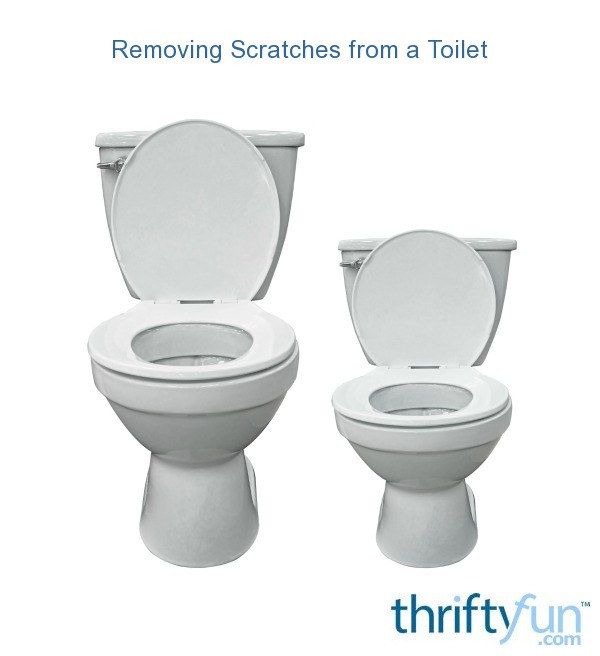 Removing Scratches from a Toilet  ThriftyFun