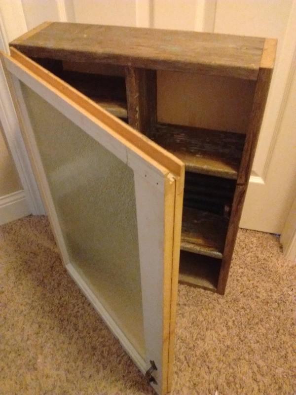 Making a Vintage Medicine Cabinet  ThriftyFun