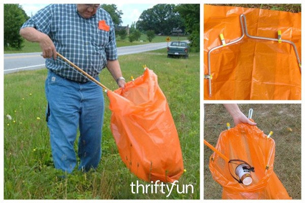 Making a Litter Bag Holder  ThriftyFun