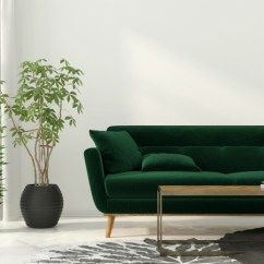 Color Sofa Microfiber Sleeper Paint To Coordinate With Hunter Green Furniture Thriftyfun