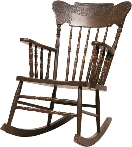 antique folding rocking chair value techni mobili review finding the of murphy's furniture | thriftyfun