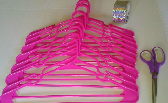 Clothes Hangers Wall Decoration Thriftyfun