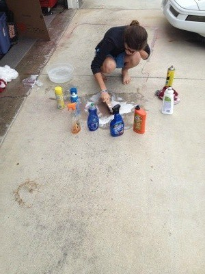 How to Clean Spray Paint Off a Driveway  ThriftyFun