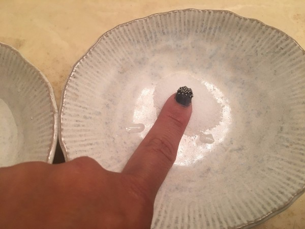 Salt For Removing Super Glue From Fingers Dip Into The