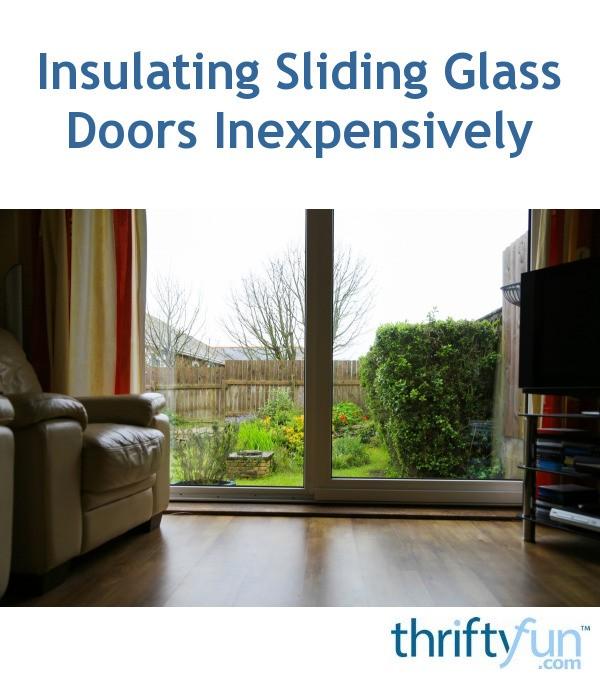 insulating sliding glass doors