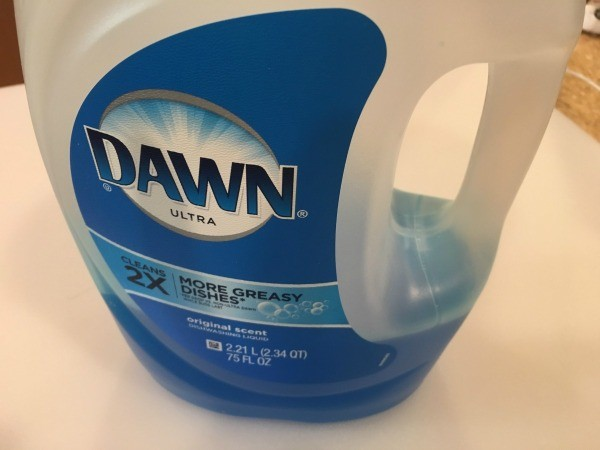 kitchen drain pipe chair pads for chairs use dawn detergent to unclog a | thriftyfun