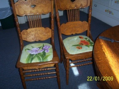 how to replace cane back chair with fabric swing kl repairing chairs thriftyfun reply was this helpful