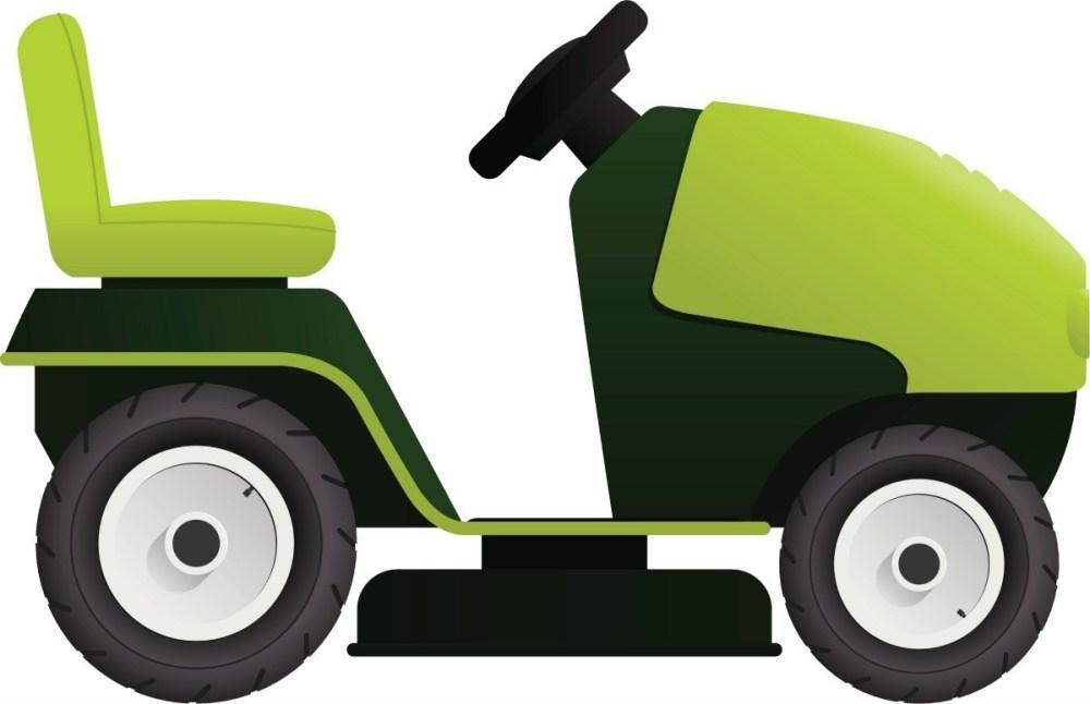 medium resolution of riding mower illustration