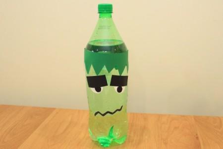 Halloween Frankenstein Soda Bottle Craft  ThriftyFun