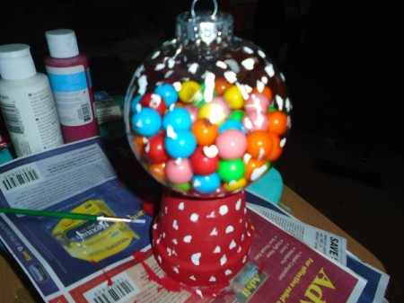 Gumball Machine Ornament Thriftyfun