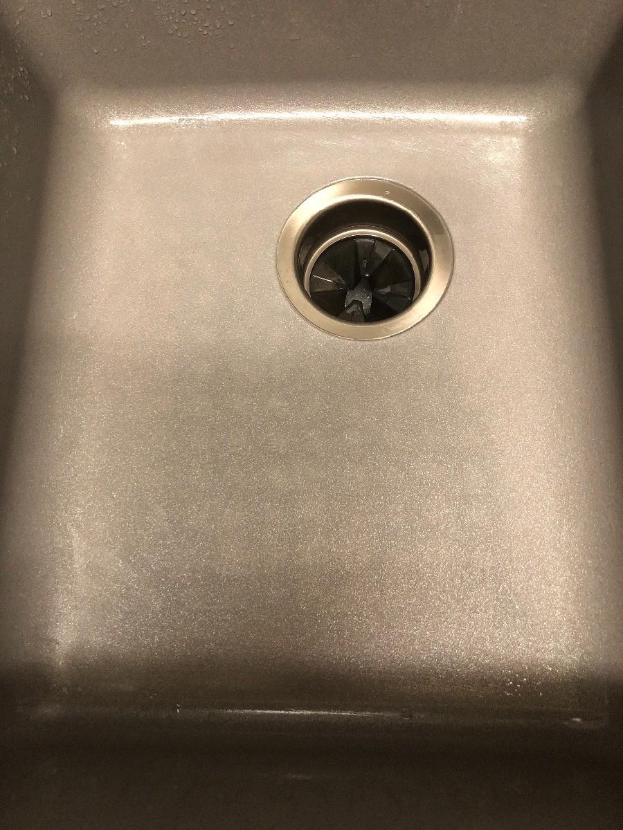 a composite granite sink