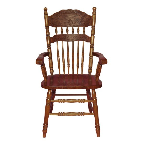 antique wood chair church chairs identifying dining thriftyfun