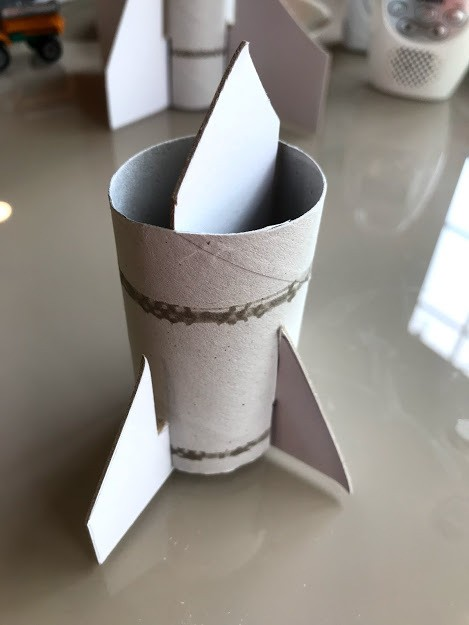 White Kitchen Roll Holder