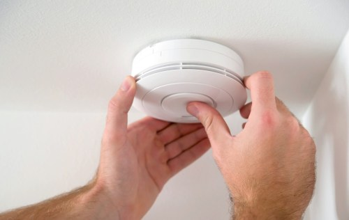 small resolution of electric smoke detector