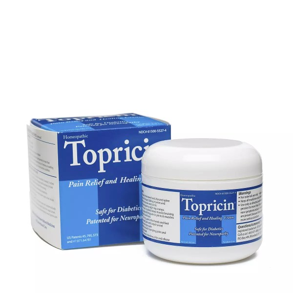 Topical Biomedics Topricin Pain Cream Jar Thrive Market
