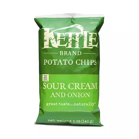 Kettle Foods Sour Cream and Onion Potato Chips Thrive Market