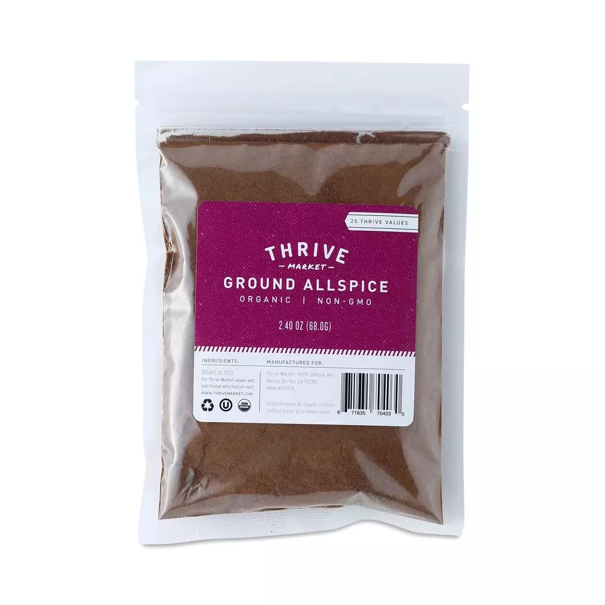 Organic Ground Allspice