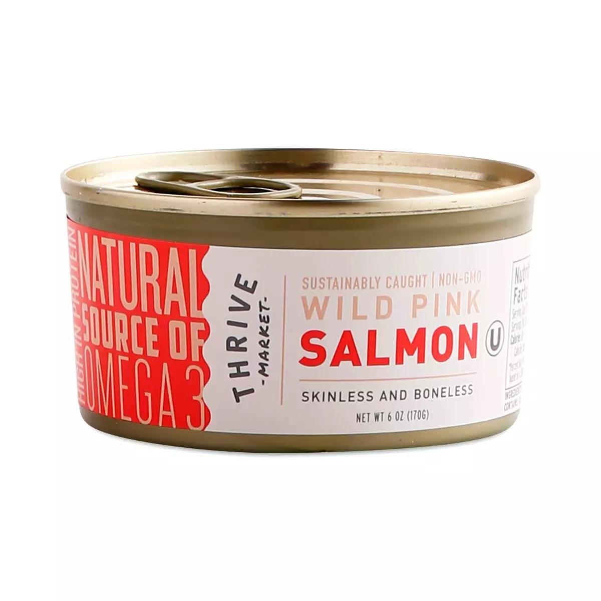 Non-GMO Wild Pink Salmon