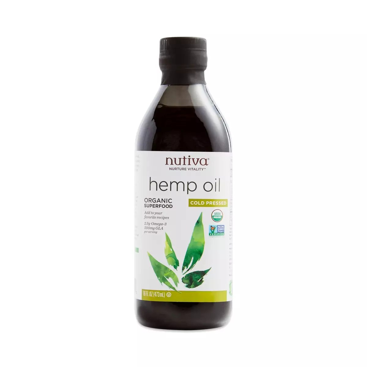 Organic Hemp Seed Oil ColdPressed  Thrive Market