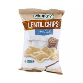 Sea Salt Baked Lentil Chips by Saffron Road Thrive Market