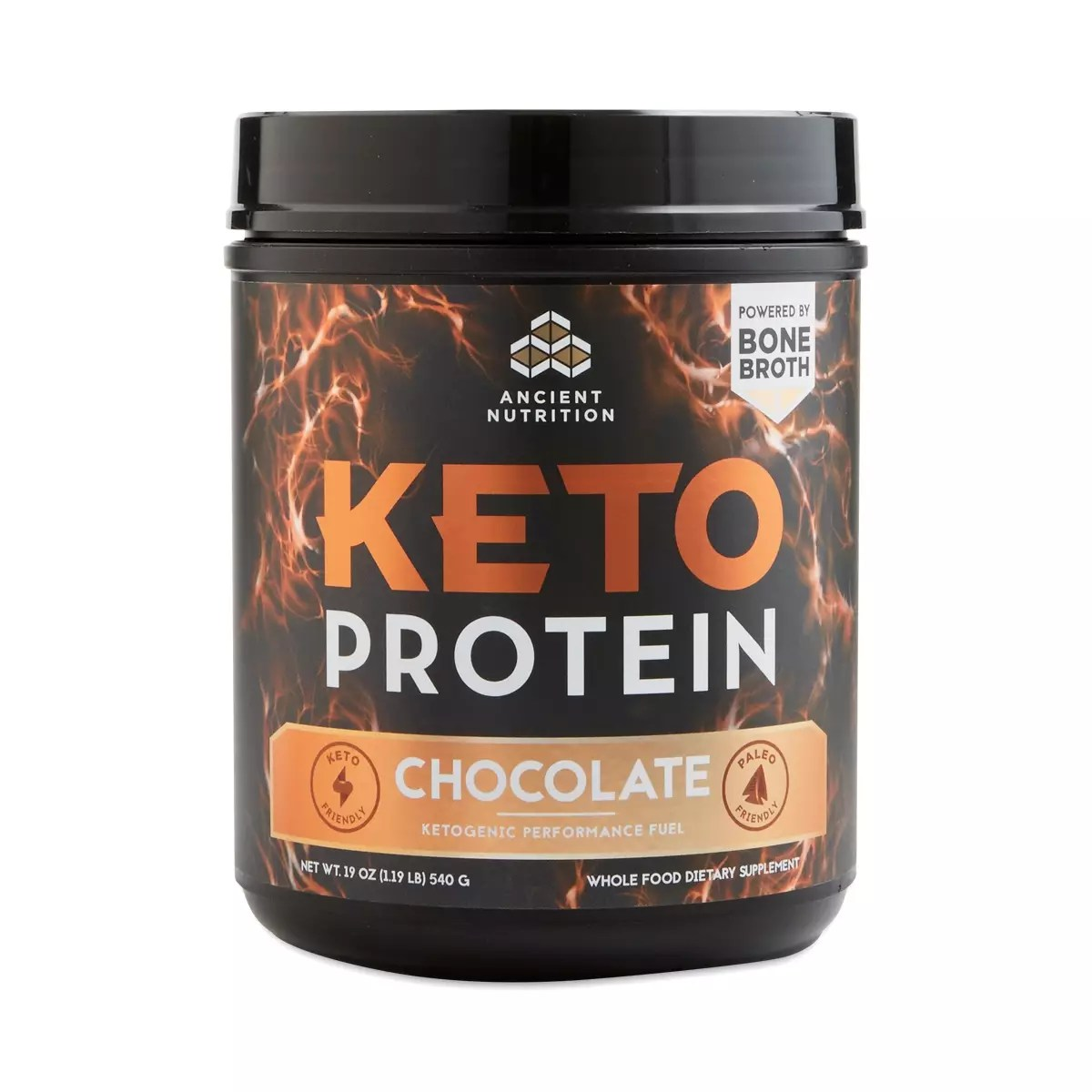 Keto PROTEIN Chocolate by Ancient Nutrition  Thrive Market