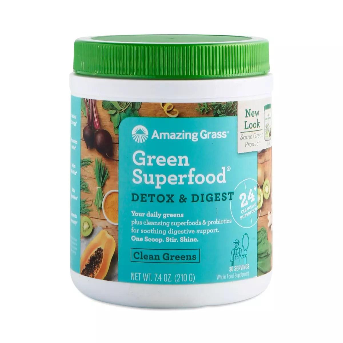 Detox & Digest Green Superfood Powder - Thrive Market