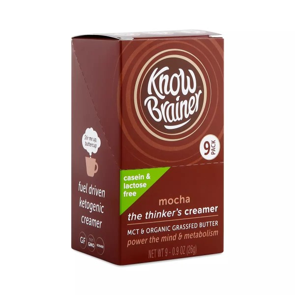 Mocha Lactose Free Creamer by Know Brainer Thrive Market