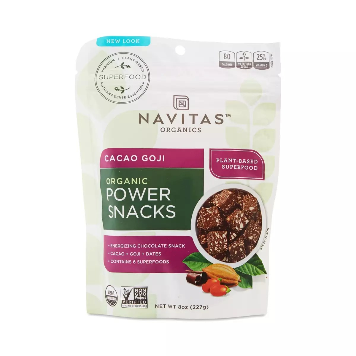 Cacao Goji Power Snacks by Navitas Organics Thrive Market