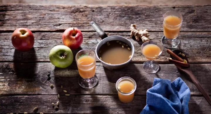Chai-Spiced Apple Cider