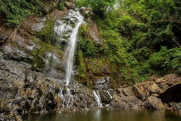 Водопады Амазонии.